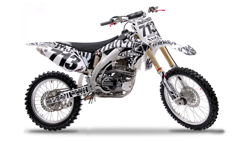 2004 2009 honda crf 250 zebra motocross graphics dirt bike decal sticker kit ebay. Black Bedroom Furniture Sets. Home Design Ideas