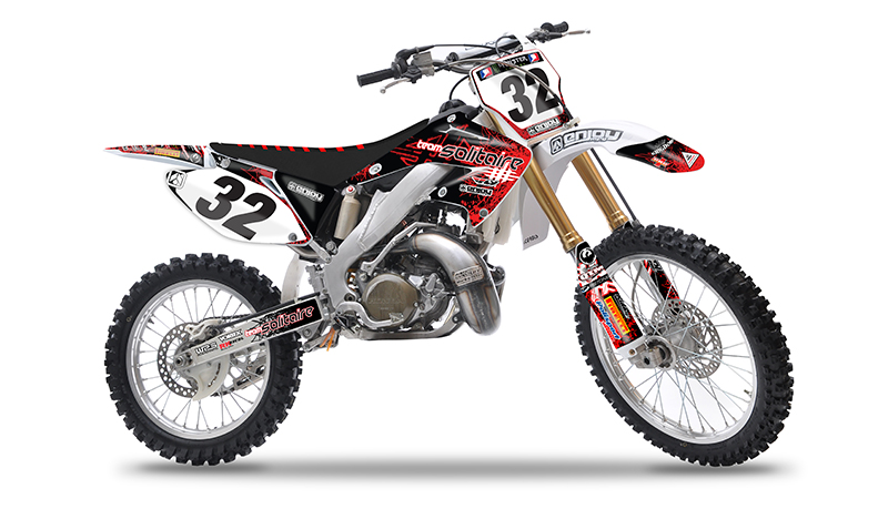 2002 2008 honda cr 125 250 solitaire motocross graphics decal by enjoy mfg nice ebay. Black Bedroom Furniture Sets. Home Design Ideas