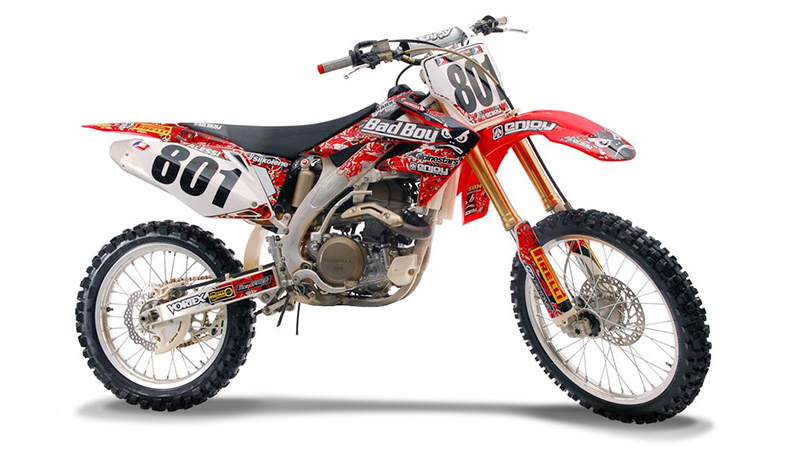 2004 2013 honda crf 250 x bad boy motocross graphics dirt bike decal sticker kit ebay. Black Bedroom Furniture Sets. Home Design Ideas