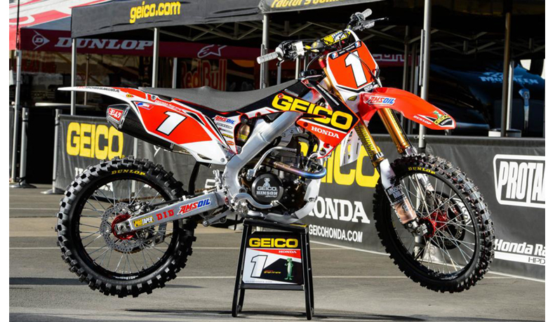2004 2009 honda crf 250 geico fork guards dirt bike graphics ebay. Black Bedroom Furniture Sets. Home Design Ideas