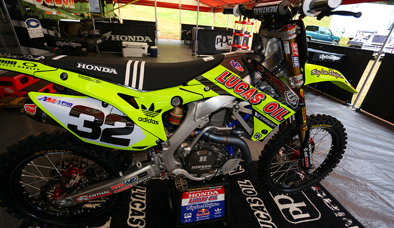 2013 2016 Honda Crf 450 Dirt Bike Tld Neon Graphics Kit Motocross