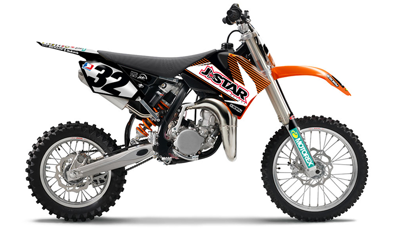 2006 2012 ktm sx 85 dirt bike graphics kit motocross. Black Bedroom Furniture Sets. Home Design Ideas