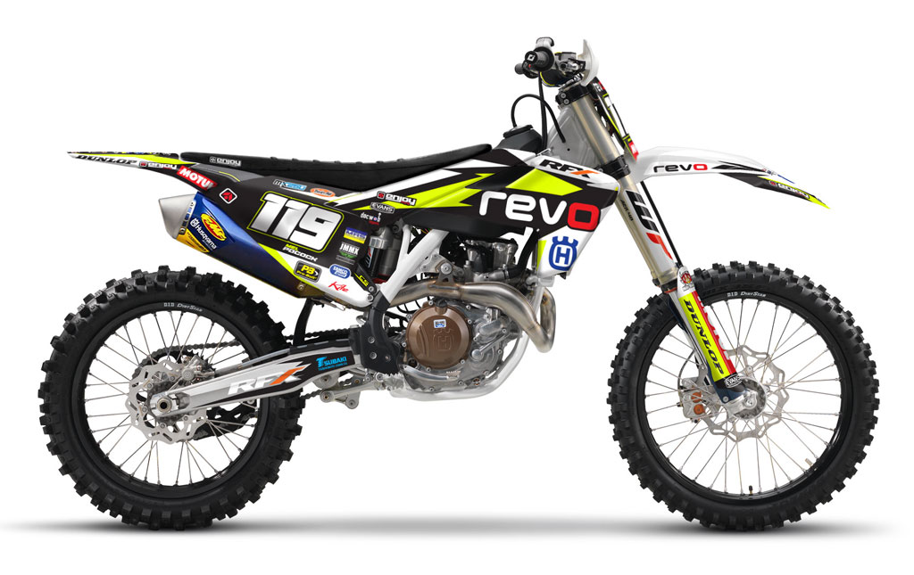 2016 2017 Husqvarna 125 450 Fc Tc Team Revo Graphics Kit